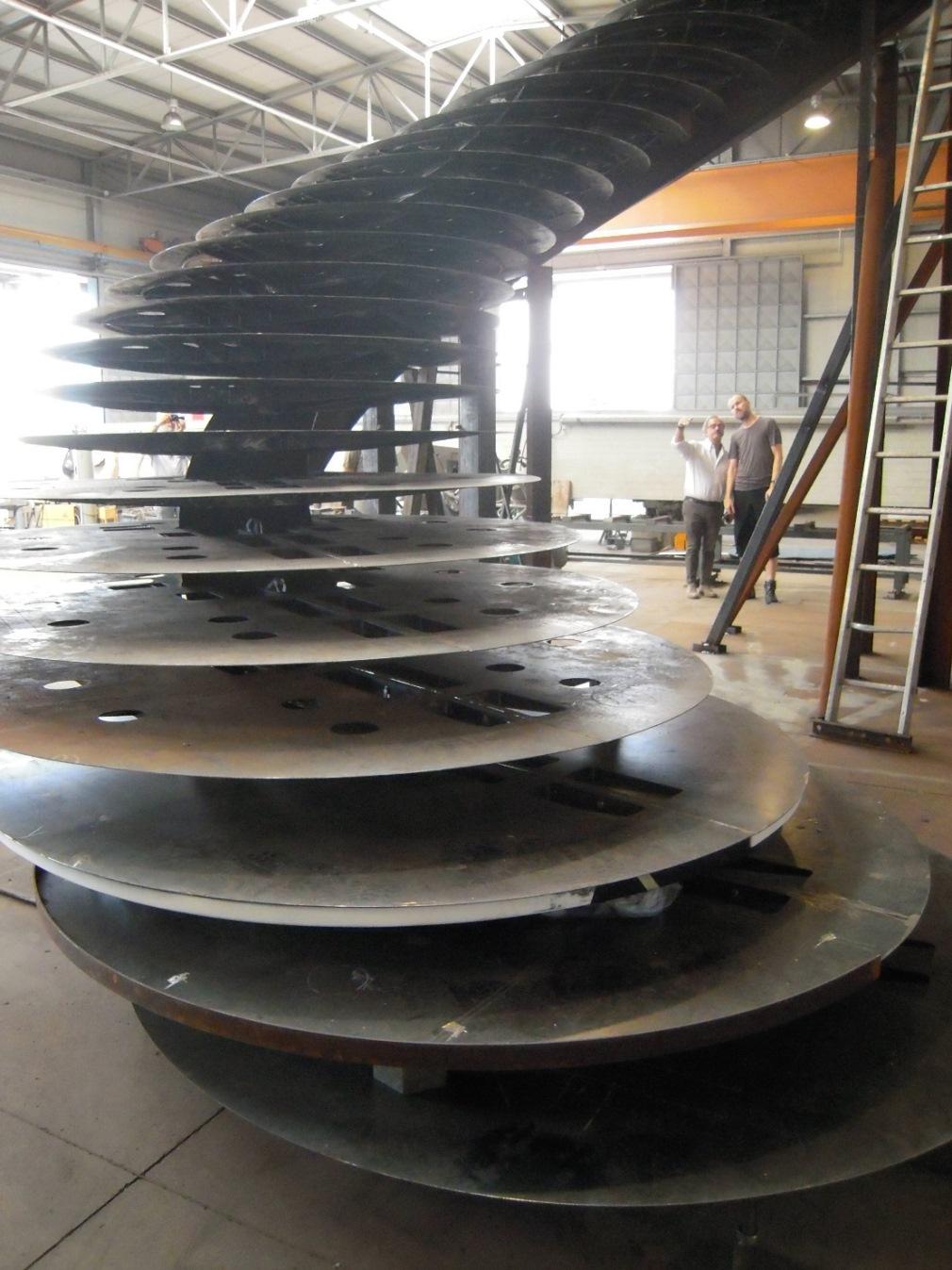 Scale in Acciaio - Studio di Ingegneria